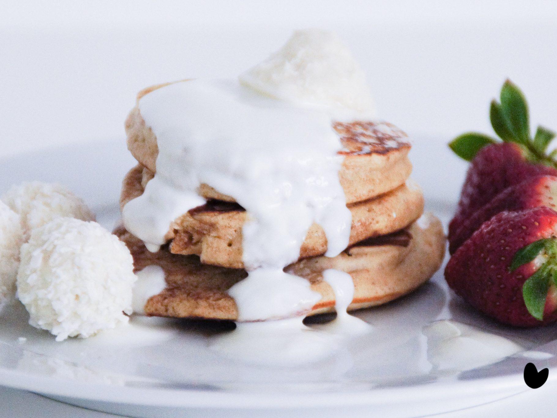 Kokosnuss Pancakes