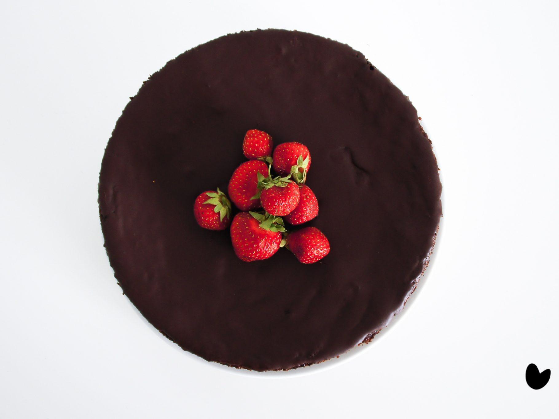 Zucchini-Kakao Kuchen