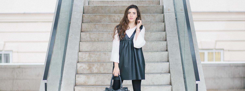 How to Wear:<br> Im Kleid durch den Winter