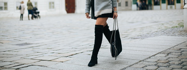 How to Wear:<br> Overknee Boots richtig kombinieren