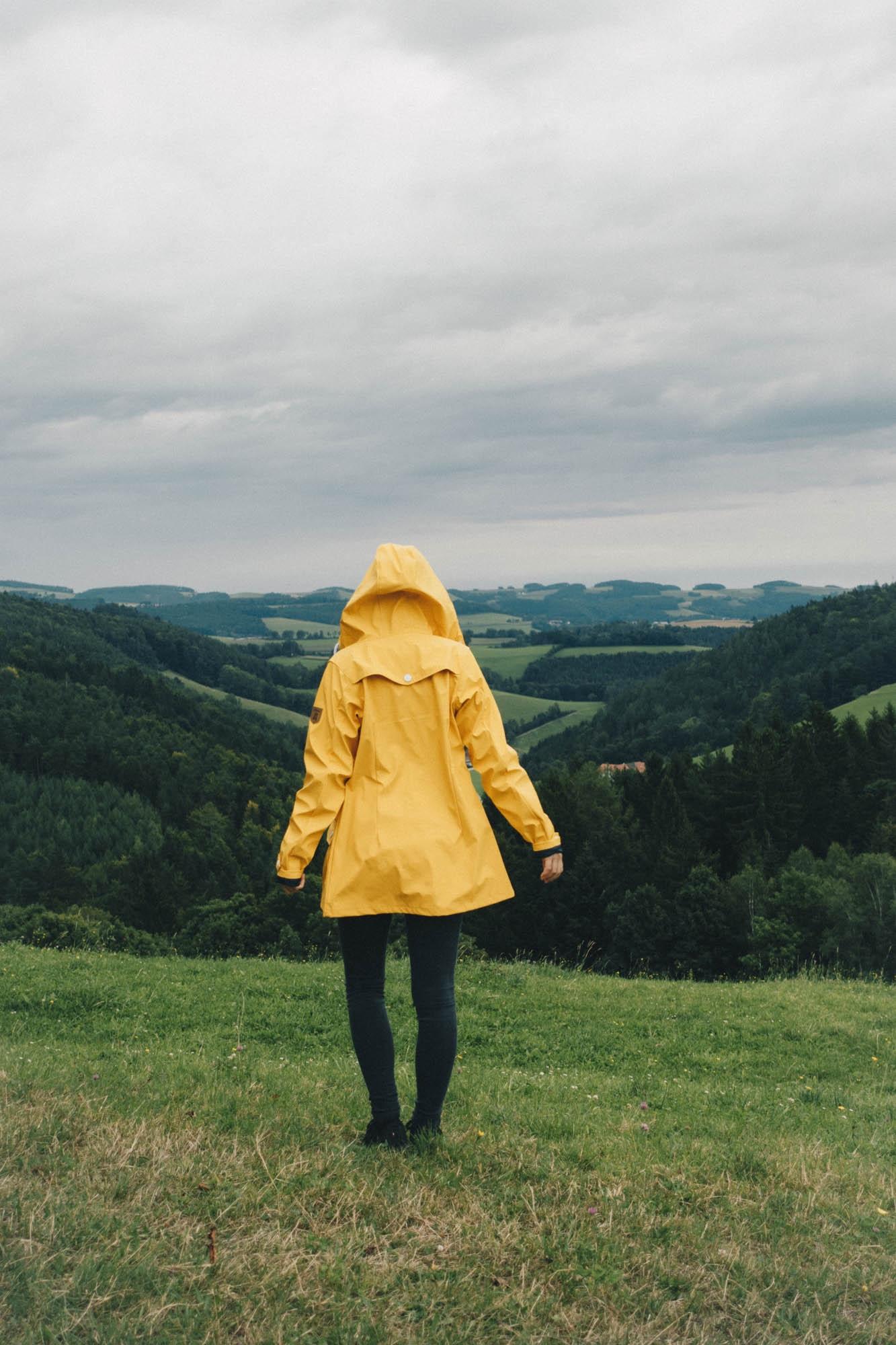 Meine gelbe Regenjacke<br> Eine Liebesgeschichte