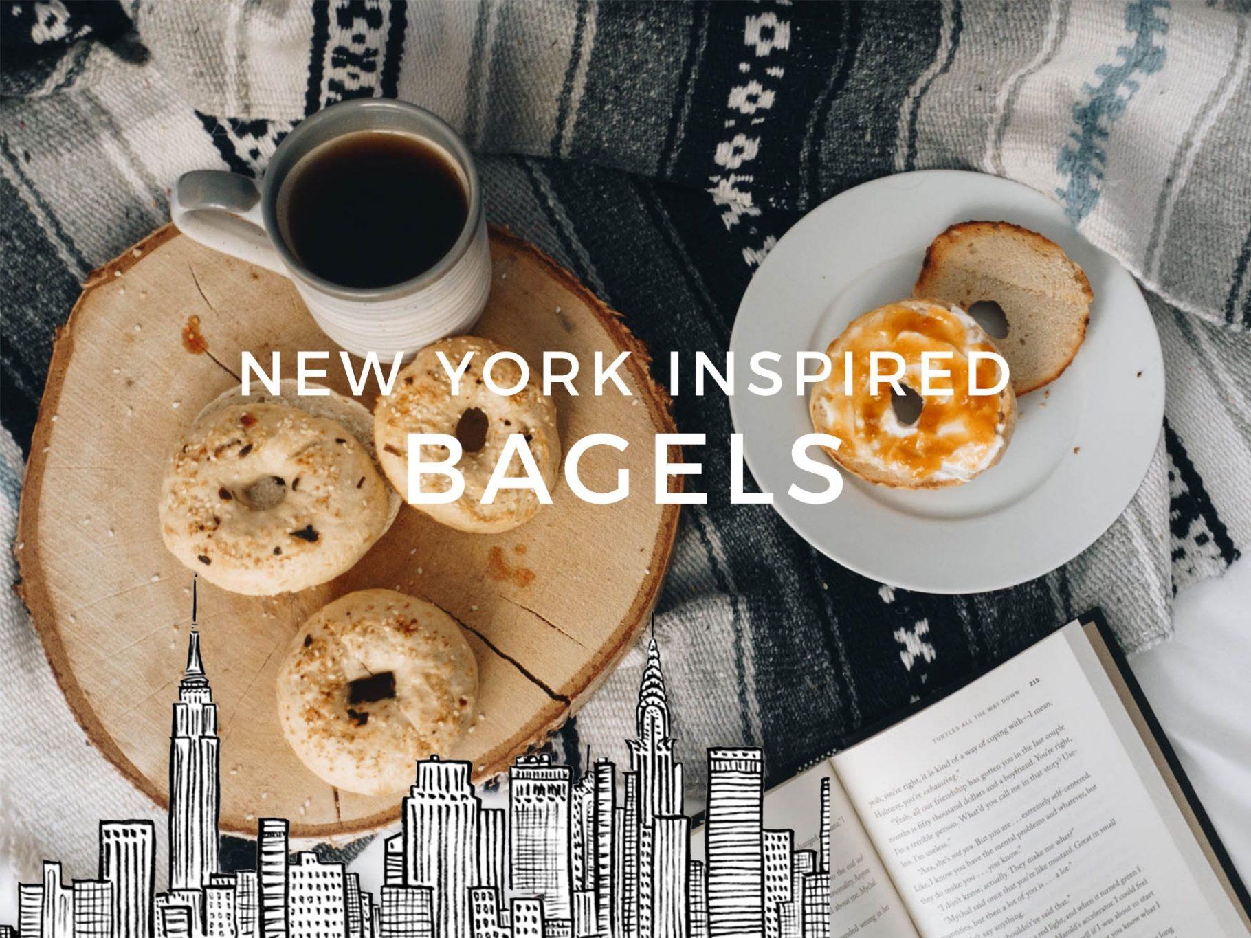New York Style 'Everything' Bagels |Rezept
