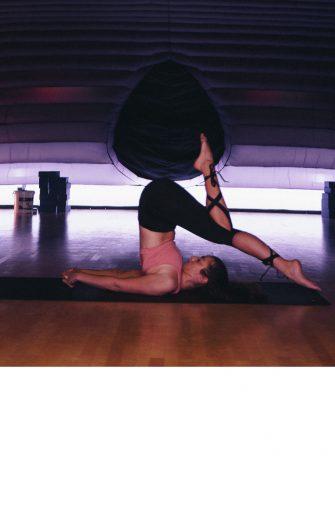 Hotpod Yoga bei Periodenschmerzen