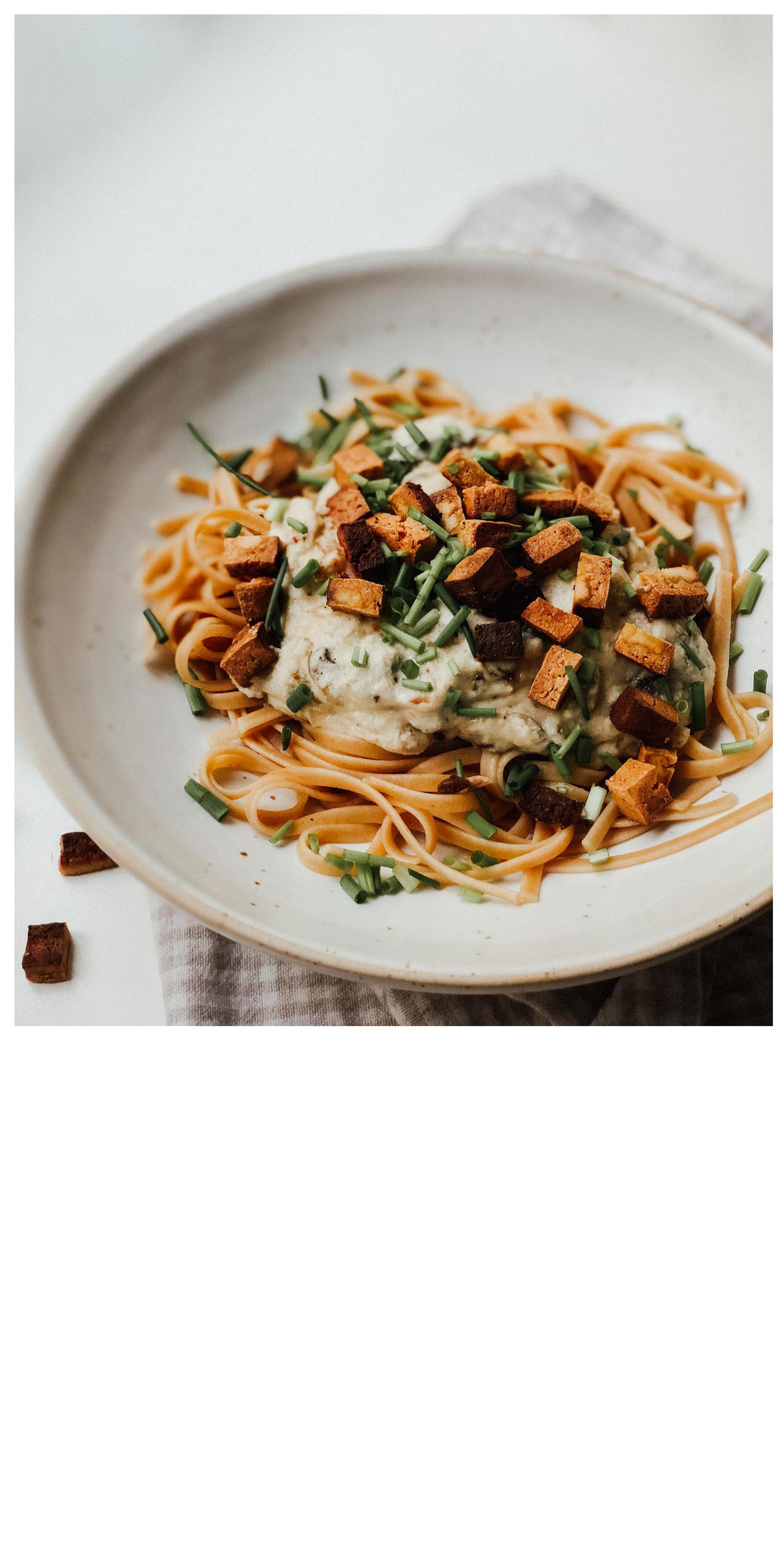 Die besten veganen Carbonara Mein absolutes Lieblingsrezept: Vegane Carbonara aus Cashews (Gnocci & Pasta Edition)