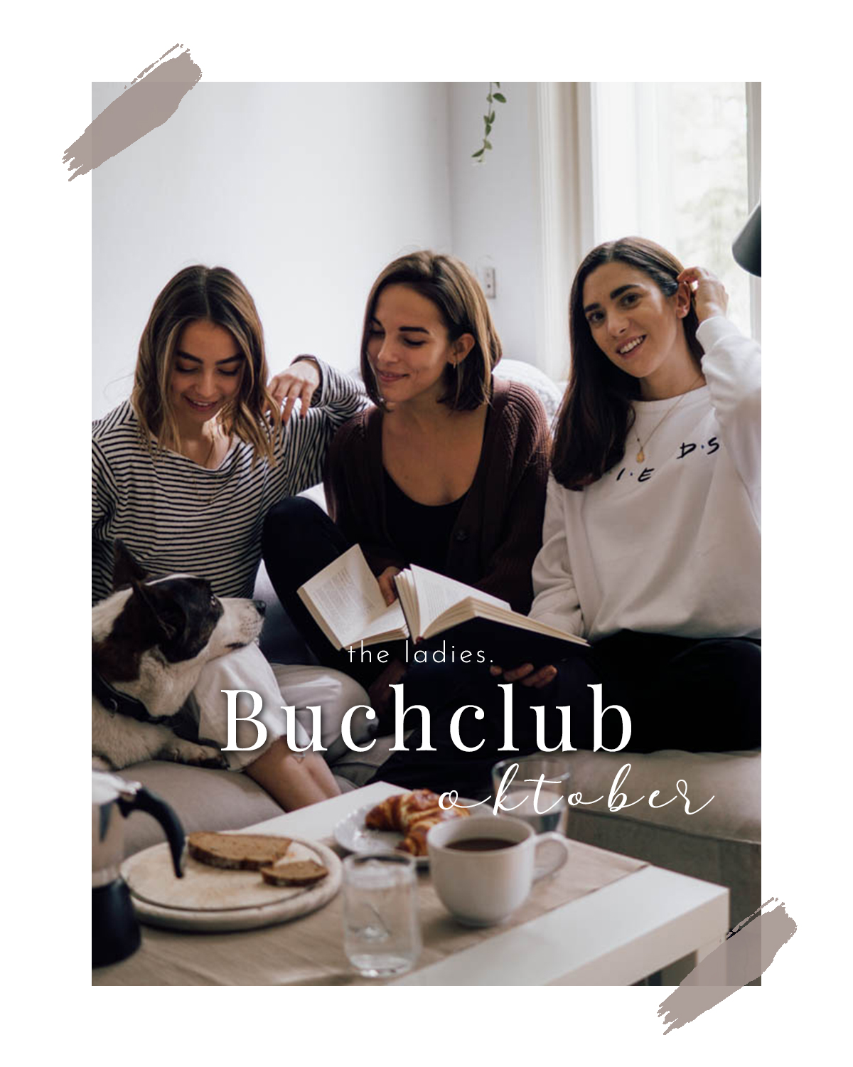 the ladies. Buchclub | Oktober